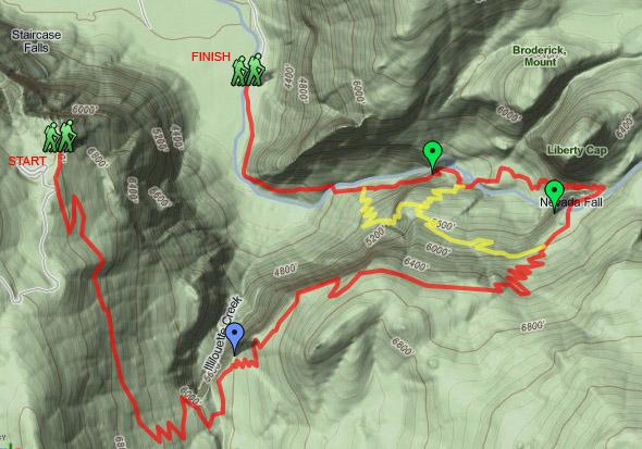 Panorama Trail Map
